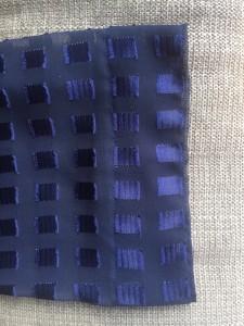 blue kimono sleeve